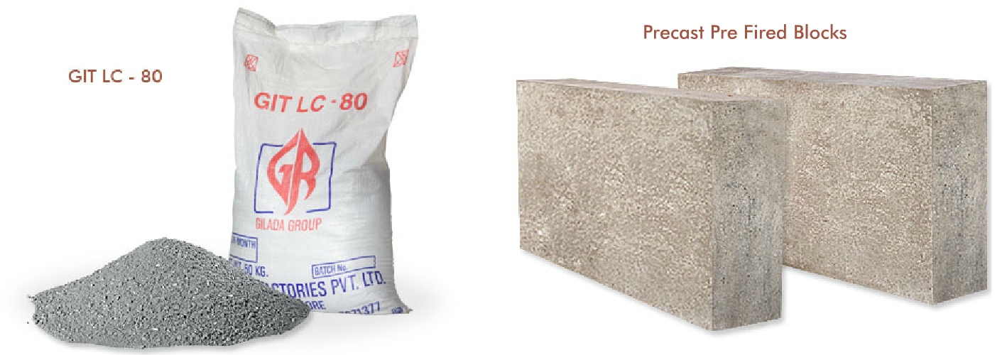 low cement castables for high temperature application